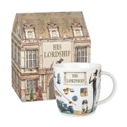 Churchill At Your Leisure His Lordship Mug in Hatbox